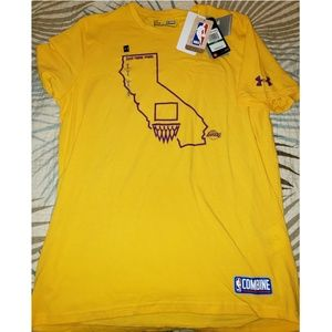 Under Armour Lakers CombineTee, NWT